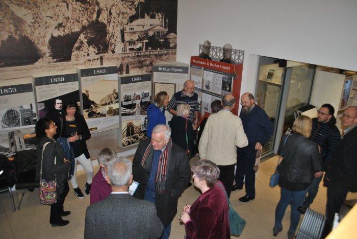 Hawkshaw and Barlow Untold exhibition at Clifton Suspension Bridge