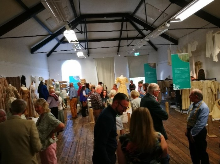 Bridport Undressed exhibition opening