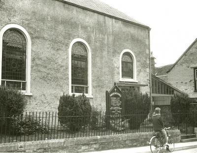 Moravian Church, Malmesbury in 1965