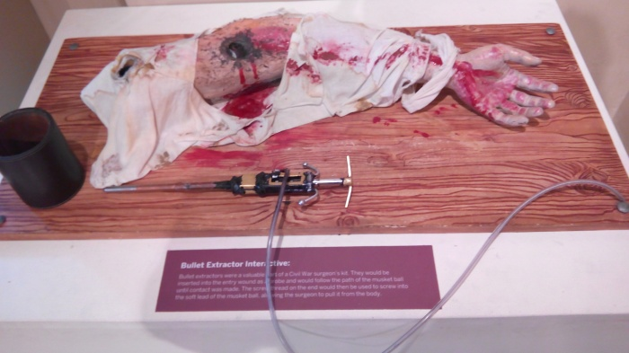 Bullet Extractor Interactive at National Civil War Centre