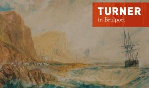 Turner painting of West Bay, Bridport