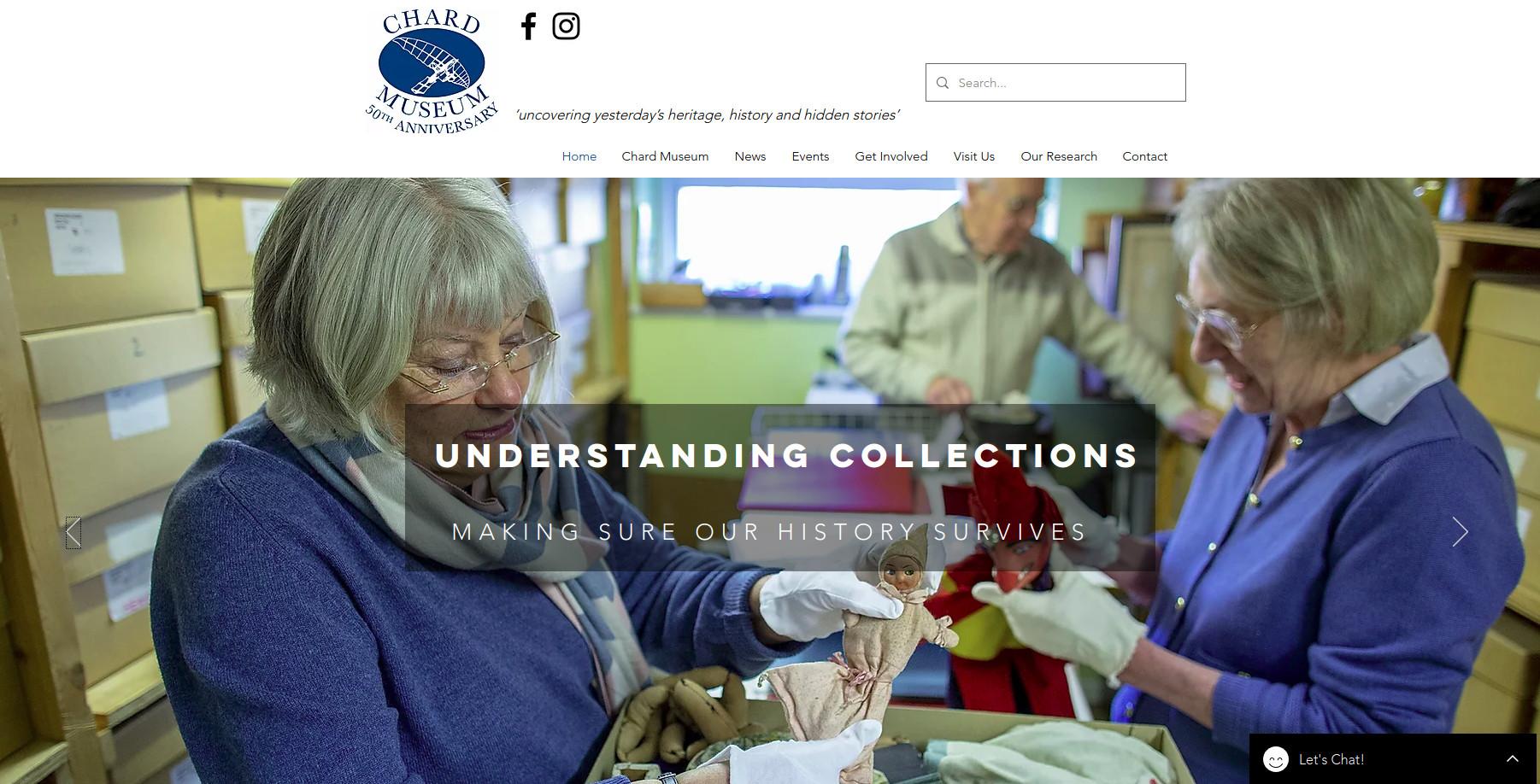 Chard Museum website